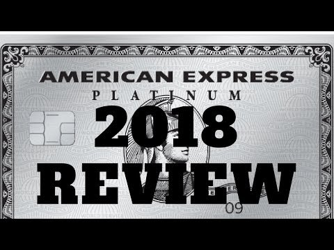 American Express Platinum 2018 Review