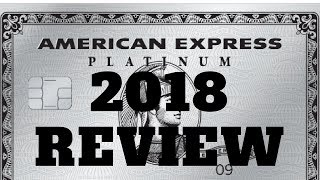 American Express Platinum 2018 Review