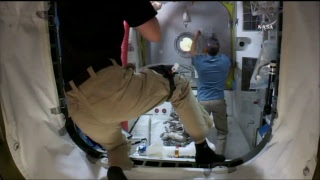 "LIVE – Astronauts take part in a spacewalk to replace Canadarm2's second ""hand""."