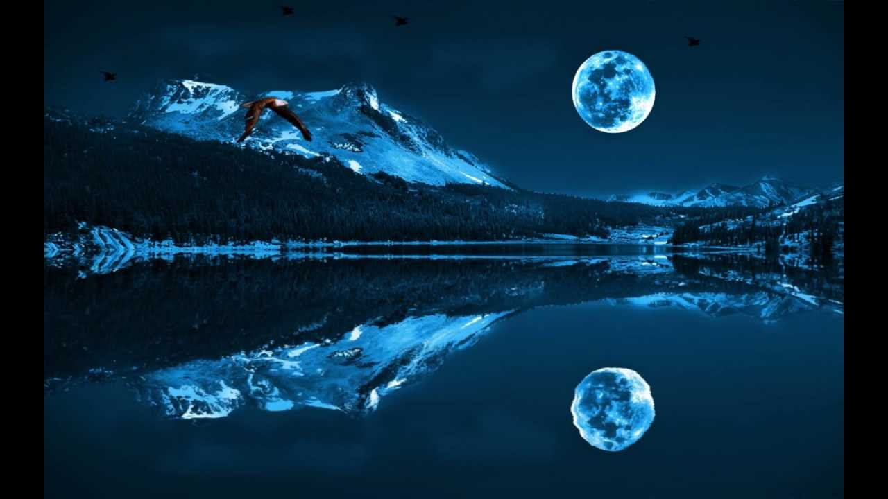Animated Wallpapers Hd 1080p Blue Moon Animated Wallpaper Http Www Desktopanimated