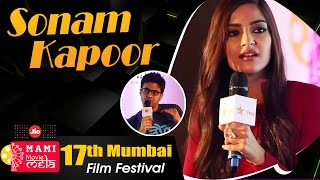 Sonam Kapoor   Rohan Joshi   Jio MAMI 2015   Movie Mela