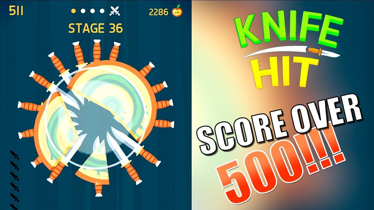 754fc2b72 HIGHSCORE OVER 500 IN KNIFE HIT BY KETCHAPP!!! - YouTube