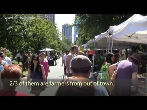 Chance für Bio in der Stadt? Farmers Market (Biobauernmarkt) in Vancouver
