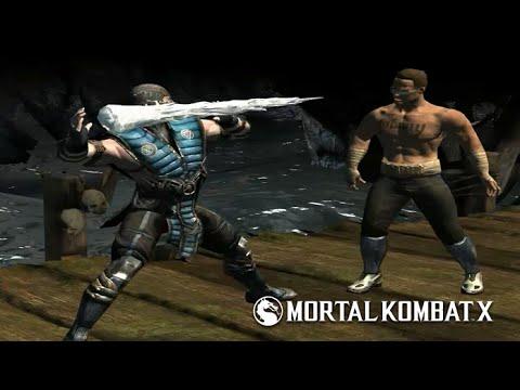 Mortal Kombat X - Grandmaster Sub-Zero Level 1 2 3 Super Moves | Ice Ball | Klone Toss | Deep Freeze