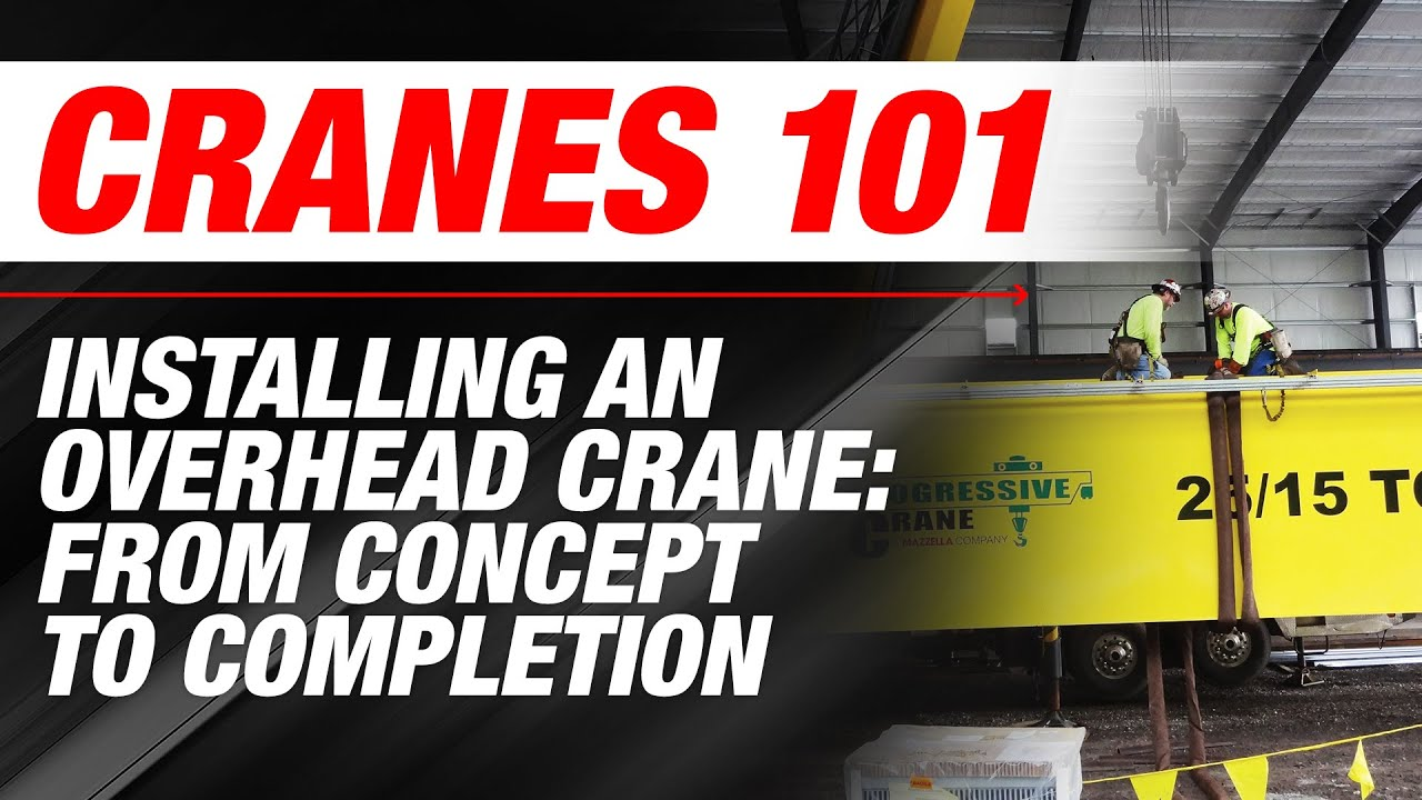 Installing an Overhead Crane: from Concept to Completion