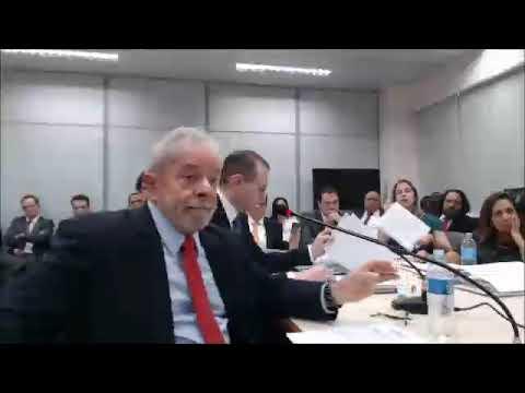 Vídeos: veja íntegra do depoimento de Lula sobre sítio de Atibaia