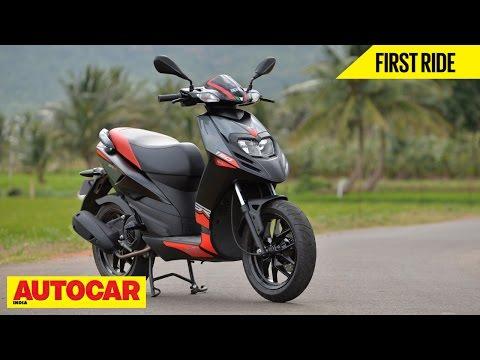 Aprilia SR 150 | First Ride | Autocar India - YouTube