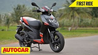 Aprilia SR 150 | First Ride | Autocar India
