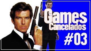 Jogos Incríveis Que Foram Cancelados #03, Jogo De Spilberg, Remake do GoldenEye 007 e Mais