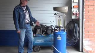 установка для экспресс замены масла Nordberg