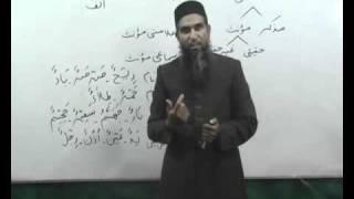 Arabi Grammar Lecture 04 Part 04 عربی  گرامر کلاسس