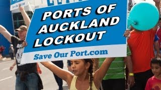 Ports Of Auckland Lockout (POAL)
