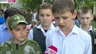 Историч.реконструкцию, посв. событиям самого начала Великой Отечественной войны, провели в школе №51