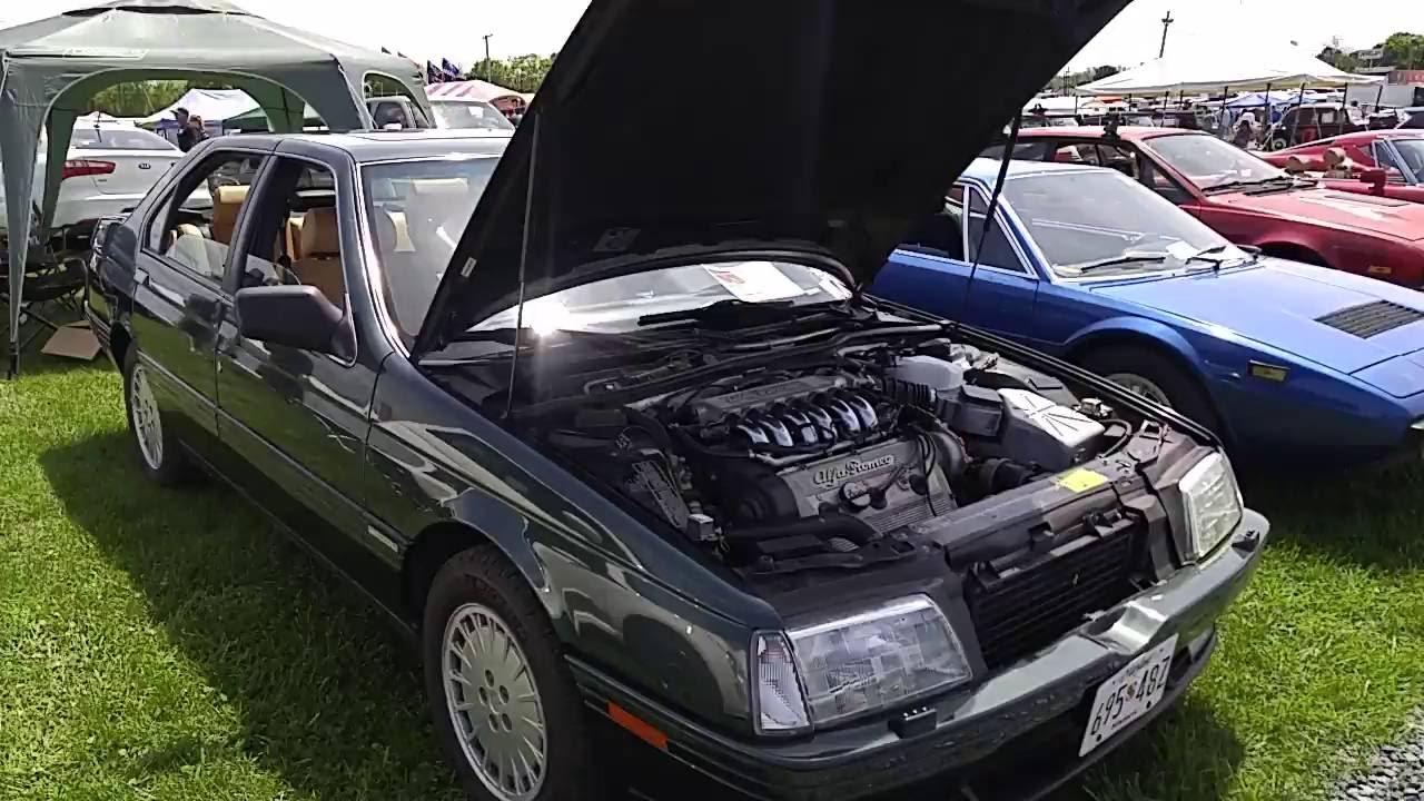 1991 alfa romeo 164 l - youtube