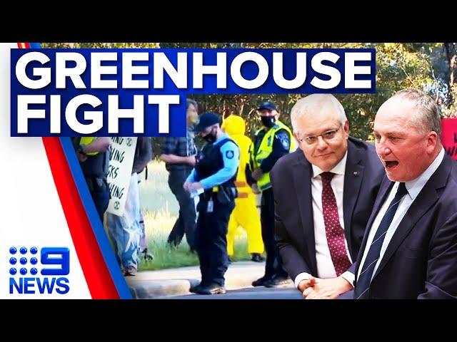 Nationals split over greenhouse gas cuts   9 News Australia