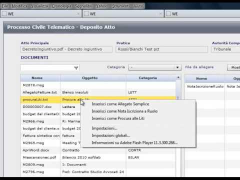 Software per il deposito decreto ingiuntivo in Polisweb PCT | EASYLEX