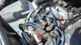 1963 215 Buick aluminum V-8 running in sand car