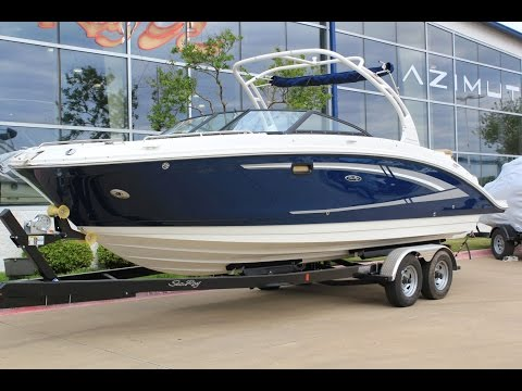 Motor boat - Youtube videos - Sea Ray 270 SDX Outboard