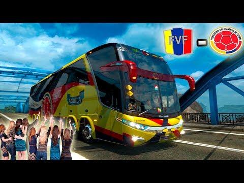 🚌 BUS DE LA SELECCIÓN COLOMBIA!!! | VENEZUELA VS COLOMBIA | EURO TRUCK SIMULATOR 2🚌🇨🇴