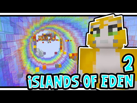 Minecraft Xbox - ISLANDS OF EDEN 2! - CRAZY PARKOUR! [3]