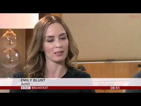 Tom Cruise & Emily Blunt Interview   Edge of Tomorrow   Breakfast
