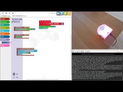 Thymio Programming in OpenRoberta Lab