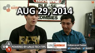 The WAN Show - Intel's 8 core Extreme Edition & Whole Room Water Cooling Teasers - August 29, 2014