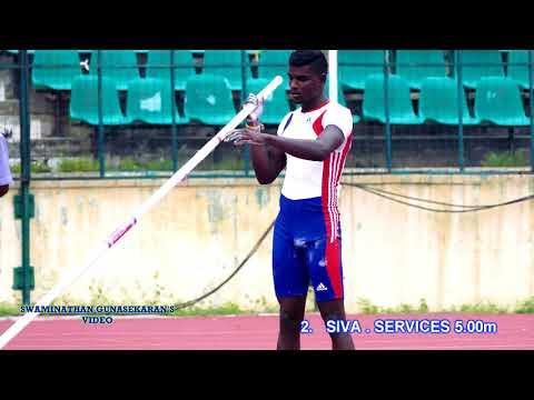 MENS  POLE  VAULT  FINAL. 57th National Open Athletics Championships 2017 CHENNAI,