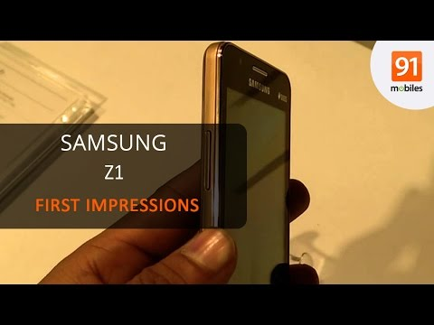 Samsung Z1: First Look | Hands on | Price