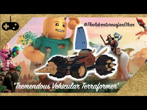 "LEGO® Worlds - ""Tremendous Vehicular Terraformer"" Trophy/Achievement Guide"