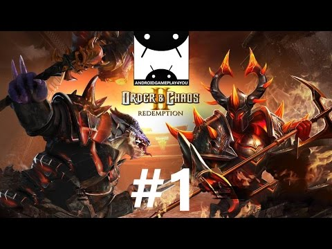 Order & Chaos 2: Redemption Android GamePlay #1 (1080p)