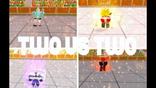 TWO VERSUS TWO ROUNDS| DRAGON BALL FINAL STAND ROBLOX!