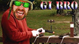 hfc m9 spring airsoft gun pistol review sold by airsplat shooting demo