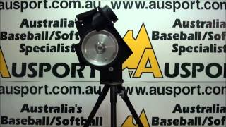 x plate single wheel pitching bowling machine for softball baseball and cricket