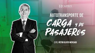 CADEFI - AUTOTRANSPORTE DE CARGA Y DE PASAJEROS - 01 MARZO