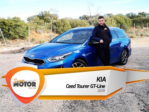 Al volante del Kia Ceed Tourer 2019 / Review / Prueba / SuperMotorOnline.com