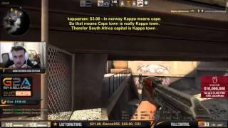 Olofmeister Hits Crazy Wallbang On Pasha