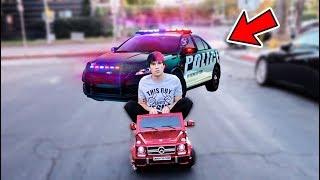 I DROVE A KIDS CAR ACROSS LOS ANGELES