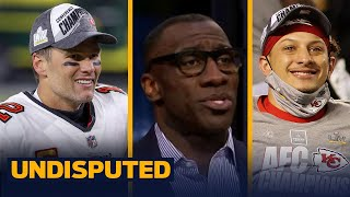 Mahomes isn't throwing shots at Brady by saying he's one of the Greats — Shannon | NFL | UNDISPUTED