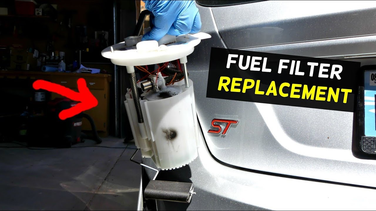 HOW TO REPLACE FUEL FILTER ON FORD FIESTA MK7 ST - YouTubeYouTube
