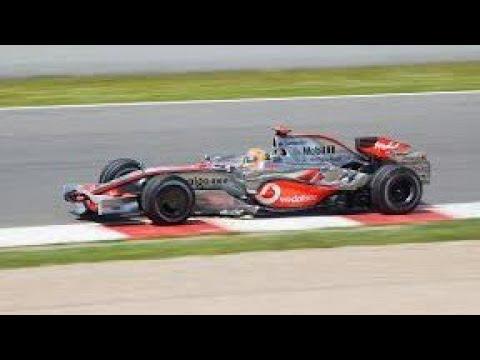 F1 2017 Classic cars bajnokság 2008 McLaren MP4-23 Monaco