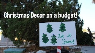Decorations for Christmas! DIY, how to, budget friendly! Thumbnail
