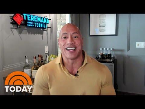 Dwayne 'The Rock' Johnson Talks Running For President   TODAY