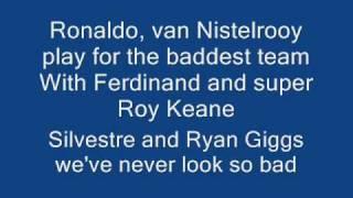 manchester united rule lyrics