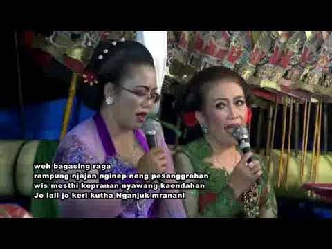 Lagu Daerah 13, Nganjuk Mranani limbukan, Erna Suwarno nanggap wayang, Purwadi