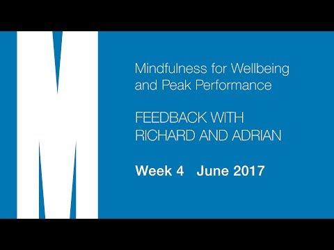 Feedback from Richard and Adrian - Week 4 - June 2017