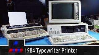 1984 Typewriter with Printer Interface