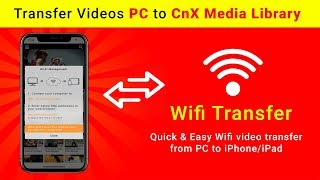 Tranfer Videos From iPhone/iPad | Videos Tranfer Through WiFi | Best Media Player for iOS