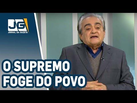 José Nêumanne Pinto / O Supremo foge do povo como o diabo da cruz