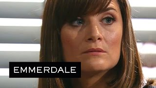 Emmerdale - Chrissie Plans To Reveal Robert And Rebecca